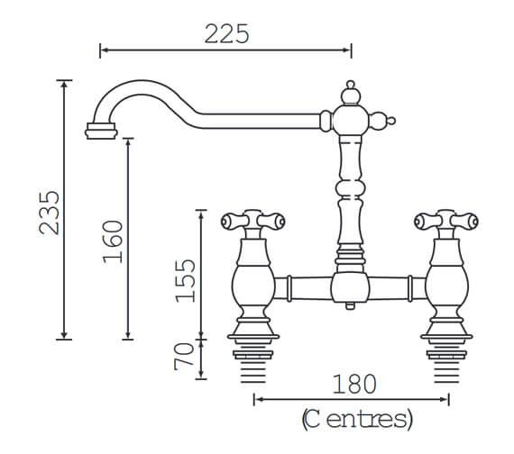 Technical drawing QS-V54084 / K BRSNK C