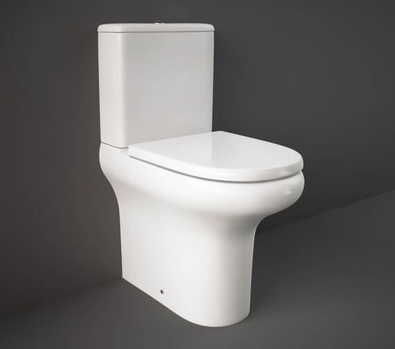 RAK Compact Dleuxe Comfort Height 45cm Back To Wall Toilet With Urea Soft Close Seat
