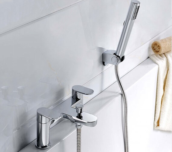 RAK Compact Round Bath Shower Mixer Tap