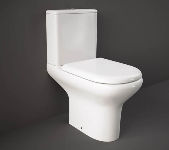 RAK Compact Full Access Close Coupled WC Pack With Urea Soft Close Seat