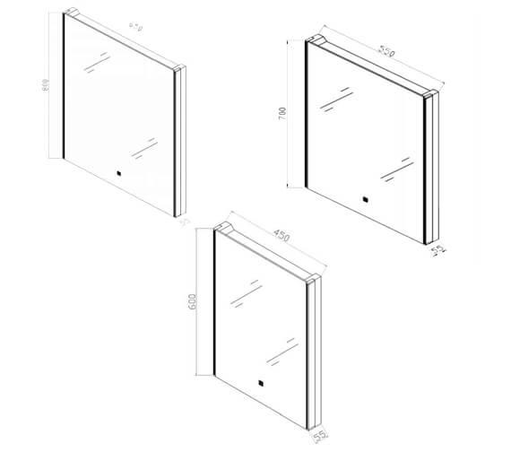 Technical drawing QS-V103086 / RAK5146RK46