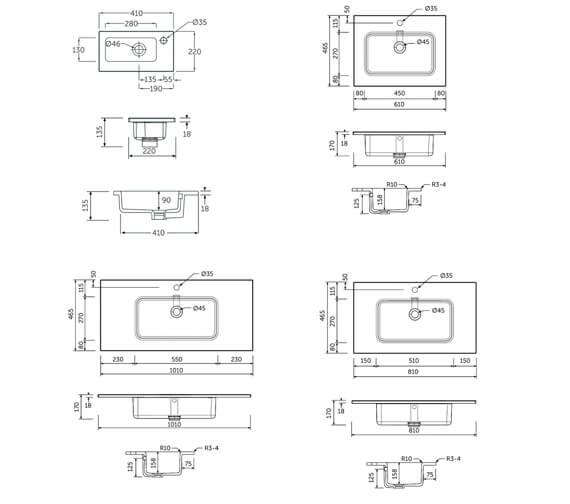 Technical drawing QS-V103088 / JOYWB4106AWHA