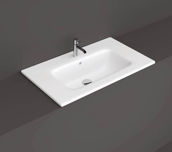 Additional image of RAK Ceramics Joy Drop-in Washbasin
