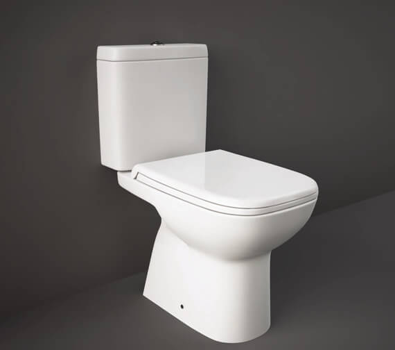 RAK Origin Full Access Close Coupled WC Pack With Soft Close Seat