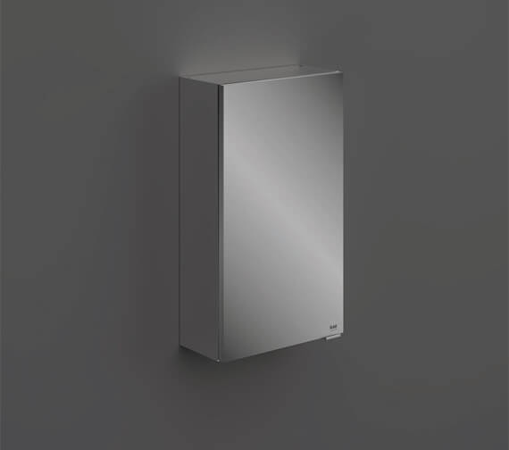 RAK Joy Single Door Wall Hung Mirror Cabinet 400mm Wide