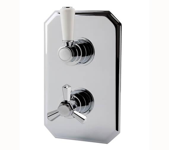 RAK Washington Thermostatic Single Outlet Concealed Shower Valve