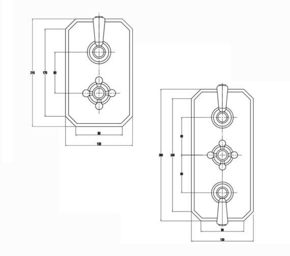 Technical drawing QS-V103109 / RAKWTN3201