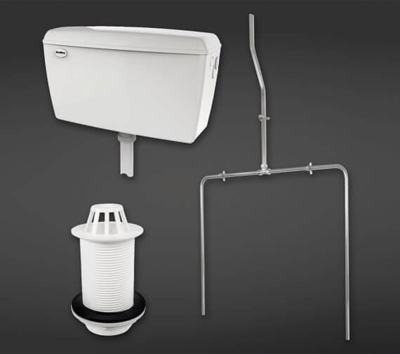 RAK 9 Litre Capacity Urinal Auto Cistern Pack For 2 Urinal