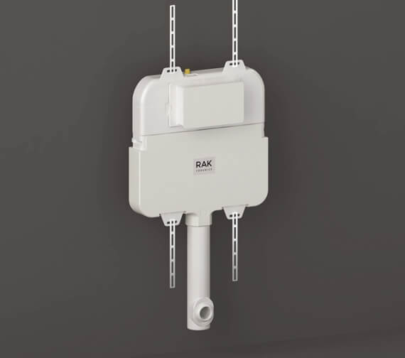 RAK Ecofix Top/Front Access Concealed Toilet Cistern 404mm Wide