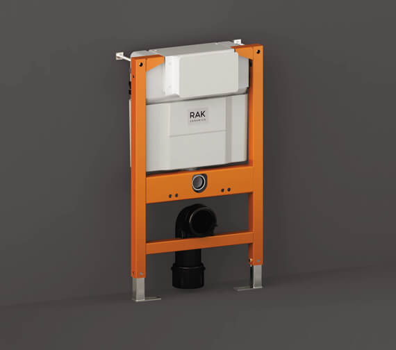RAK Top/Front Flush Concealed Cistern And Frame For Wall Hung Pans - Frame Height 82cm