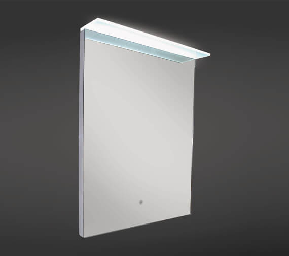 RAK Manhattan LED Mirror With Demister Pad And Canopy 500 x 700mm