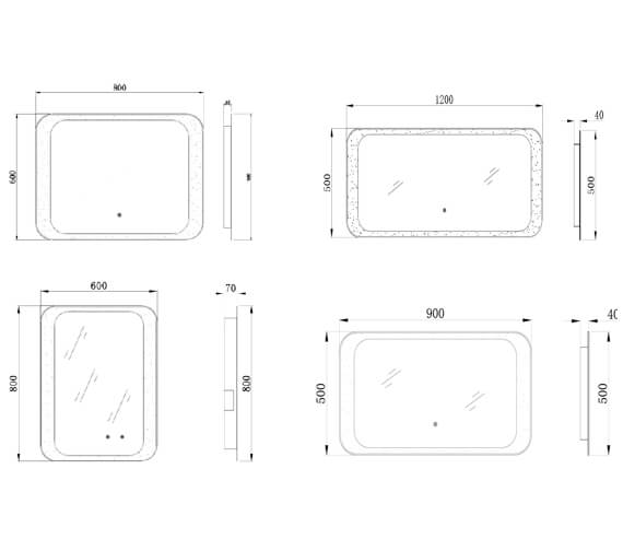 Technical drawing QS-V103129 / RAKHAR5004