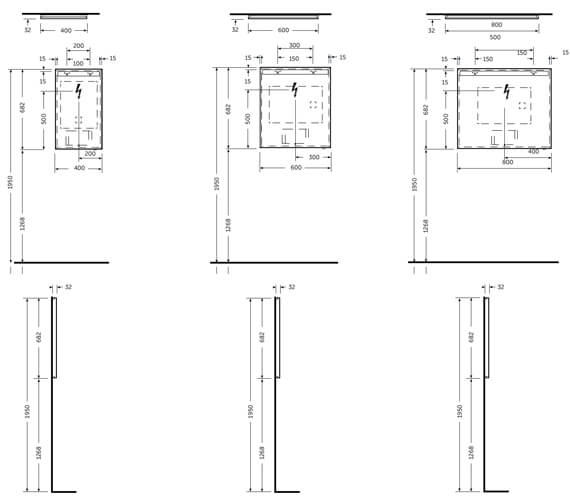 Technical drawing QS-V103134 / JOYMR04068LED