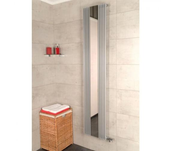 RAK Burj Single Designer Vertical Radiator 420 x 1800mm