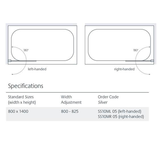 Technical drawing QS-V86200 / SS10ML
