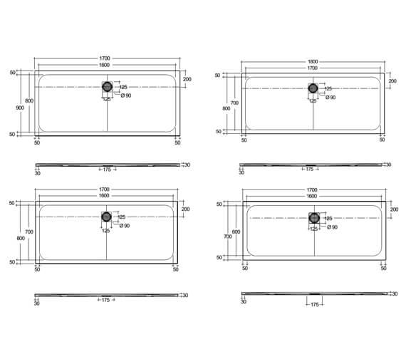 Technical drawing QS-V103139 / RFBR070170S500