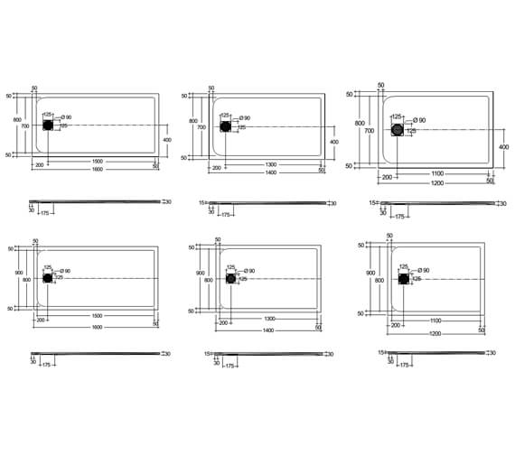 Technical drawing QS-V103132 / RFST080120S500