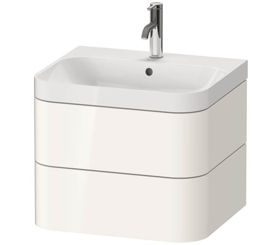 Duravit Happy D.2 Plus Wall Mounted Vanity Unit With C-Shaped Basin
