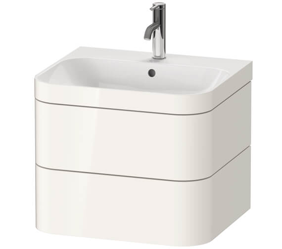 Duravit Happy D.2 Plus Wall Mounted Vanity Unit With C-Bonded Basin