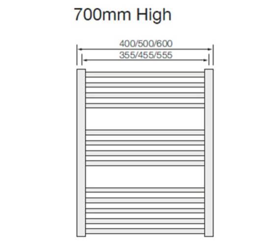 Technical drawing QS-V103149 / MET500700CV