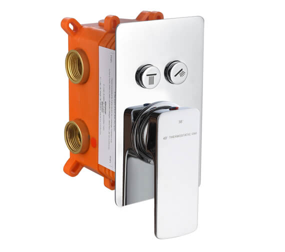 Additional image of RAK Summit Thermostatic Single Outlet Concealed Shower Valve