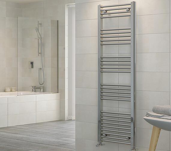 RAK Metropolitan Straight Chrome Ladder Towel Rail