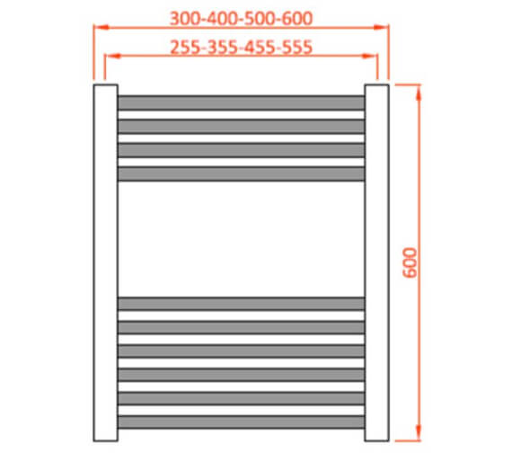 Technical drawing QS-V103148 / MET400600ST