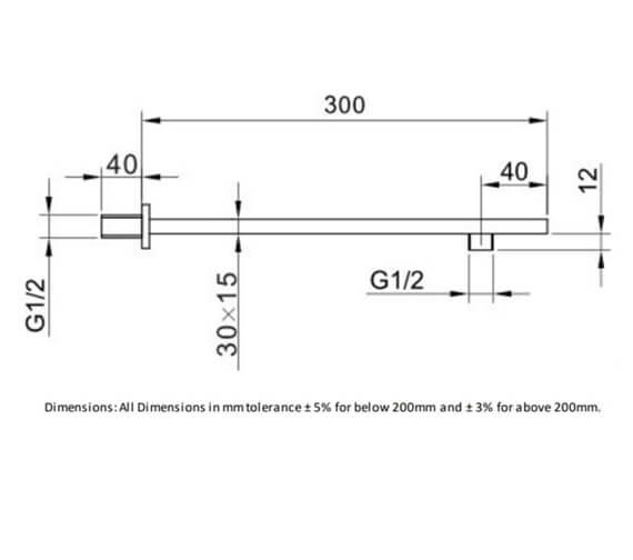 Technical drawing QS-V103162 / RAKSHW0001