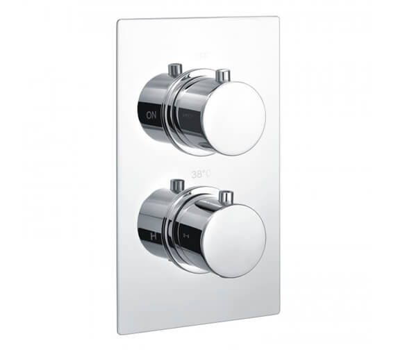 RAK Thermostatic Concealed Shower Valve Round Or Square