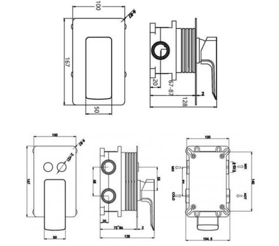 Technical drawing QS-V103159 / RAKRST3301