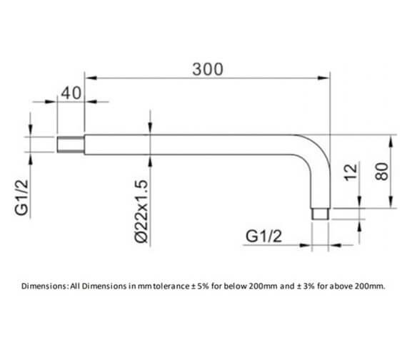 Technical drawing QS-V103161 / RAKSHW0003
