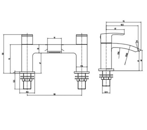 Technical drawing QS-V103183 / RAKCRV3004