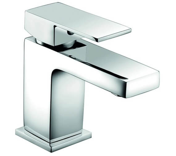 RAK Cubis Mono Basin Mixer Tap With Clicker Waste