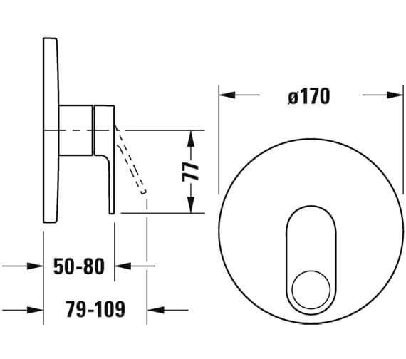 Technical drawing QS-V102783 / B34210010010