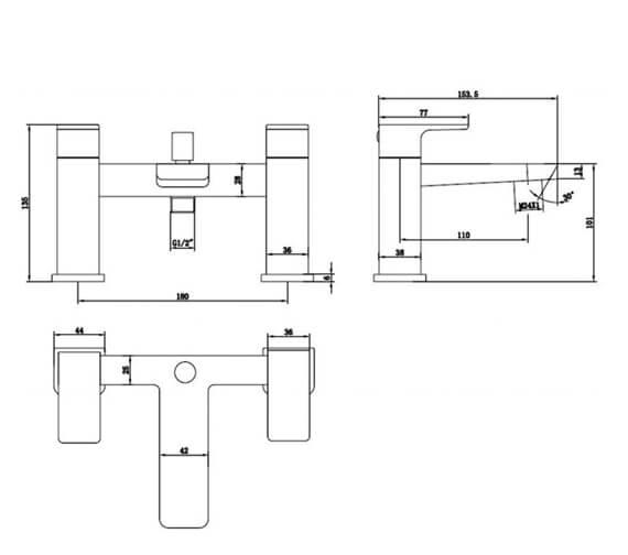 Technical drawing QS-V103207 / RAKMOO3005
