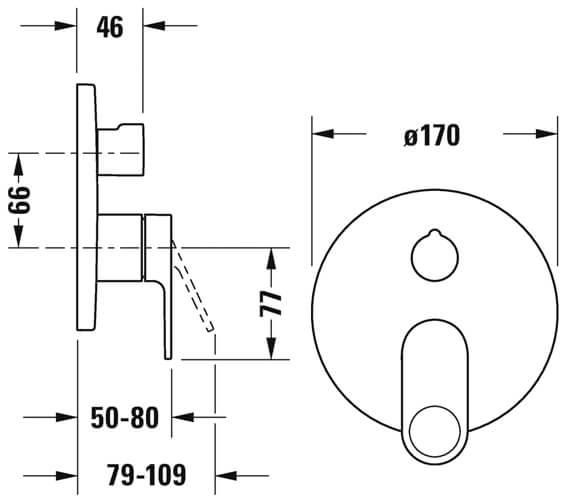 Technical drawing QS-V102785 / B35210012010