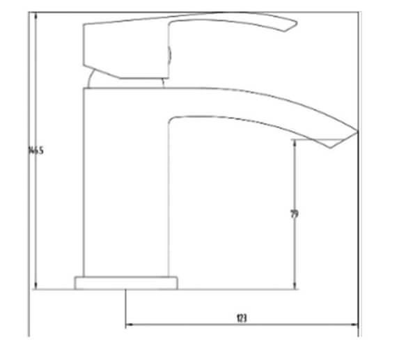 Additional image for QS-V103202 Rak Ceramics - RAKMET3002