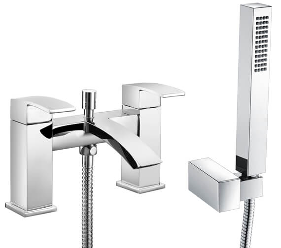 RAK Metropolitan Bath Shower Mixer Tap Deck Mounted