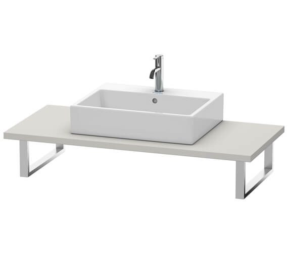 Duravit 550mm Depth One Cut-out Universal Console For Above Counter Basin