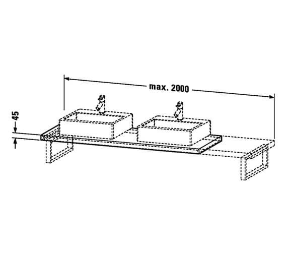 Technical drawing QS-V98136 / UV106C00707