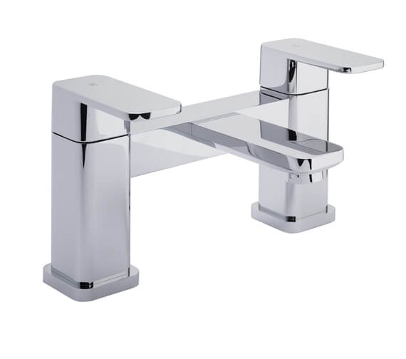 RAK Resort Chrome Bath Filler Tap Deck Mounted