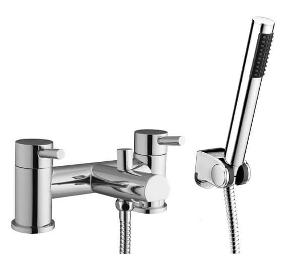 RAK Prima Bath Shower Mixer Tap With Hose And Handset