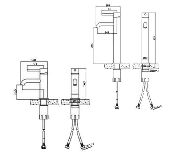 Technical drawing QS-V103219 / RAKPRT3001