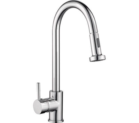 RAK Madrid Pull Out Side Lever Kitchen Sink Mixer Tap