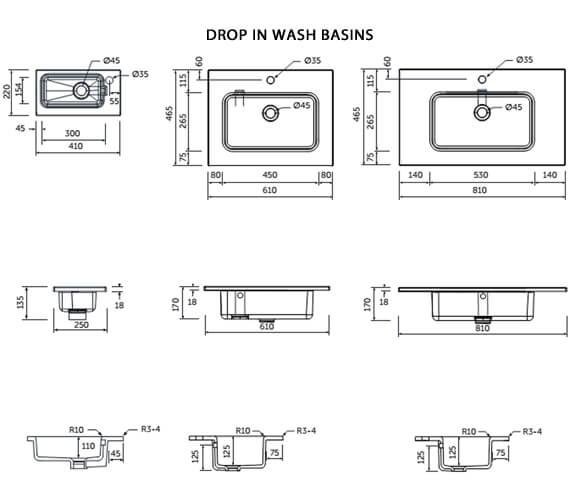 Technical drawing QS-V103138 / JOYWH060PWH