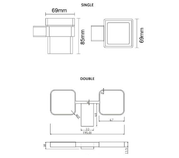 Technical drawing QS-V103284 / RAKHAR9903