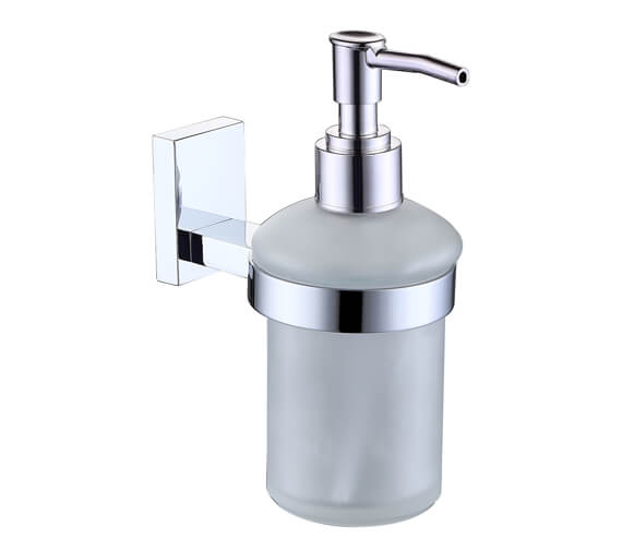RAK Resort Glass Soap Dispenser And Holder