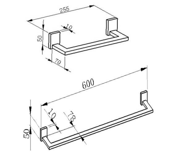 Technical drawing QS-V103278 / RAKC17160