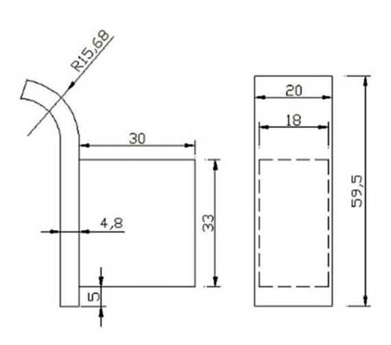 Technical drawing QS-V103297 / RAKHAR9909
