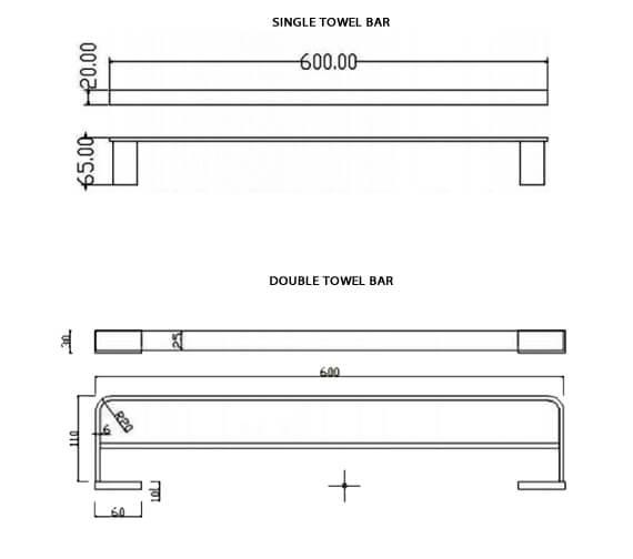 Technical drawing QS-V103298 / RAKHAR9910